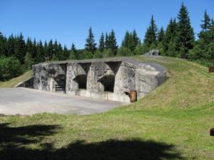 Pevnost Hanička pohled z boku