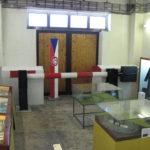 Expozice model hraniční závory