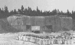 Historický fotka Pevnosti Hanička